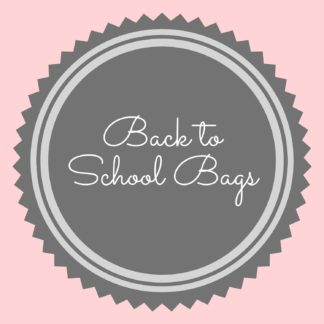 Back To School Bags